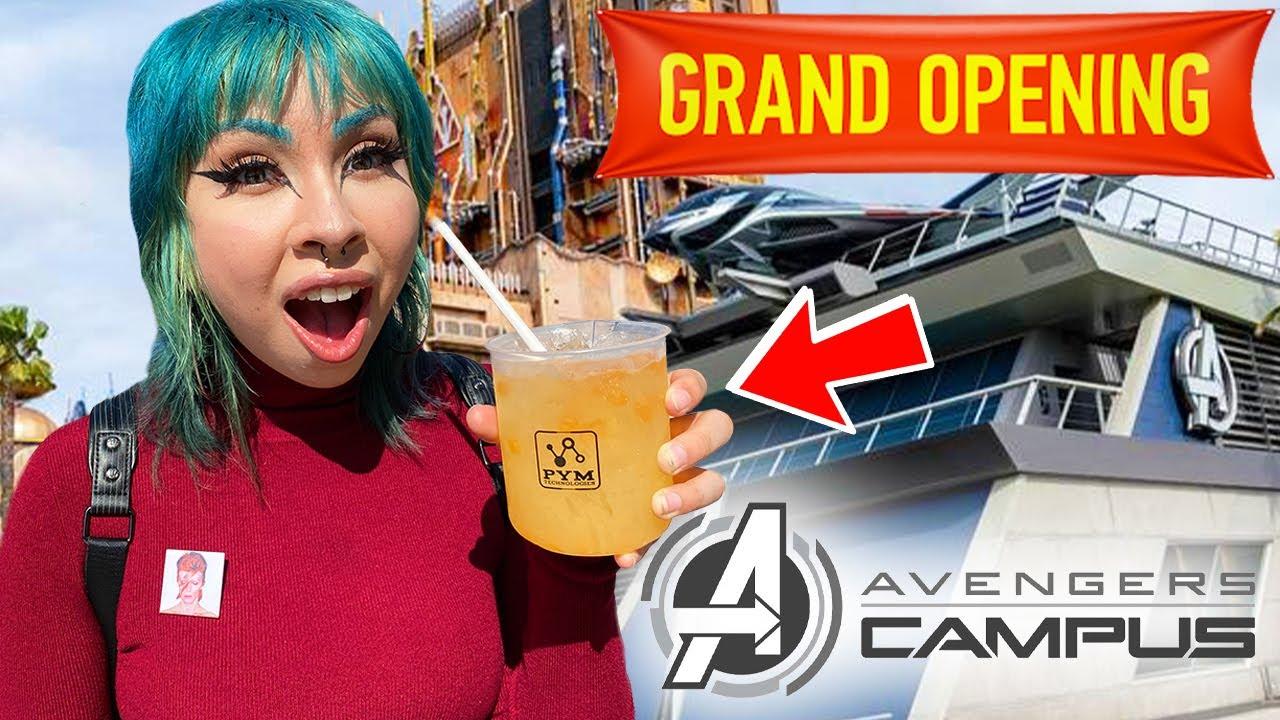 Avengers Campus Full Tour! Disneyland California Adventure Theme Park 2021