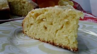 Очень вкусный лимонный пирог