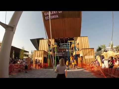 Kiiking at Estonia pavilion - Expo Milano 2015 - Italy - GoPro Hero3+ Silver Edition