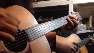 ทะเลใจ - แอ๊ด คาราบาว ( บรรเลง ) guitar by - songpop smutpong