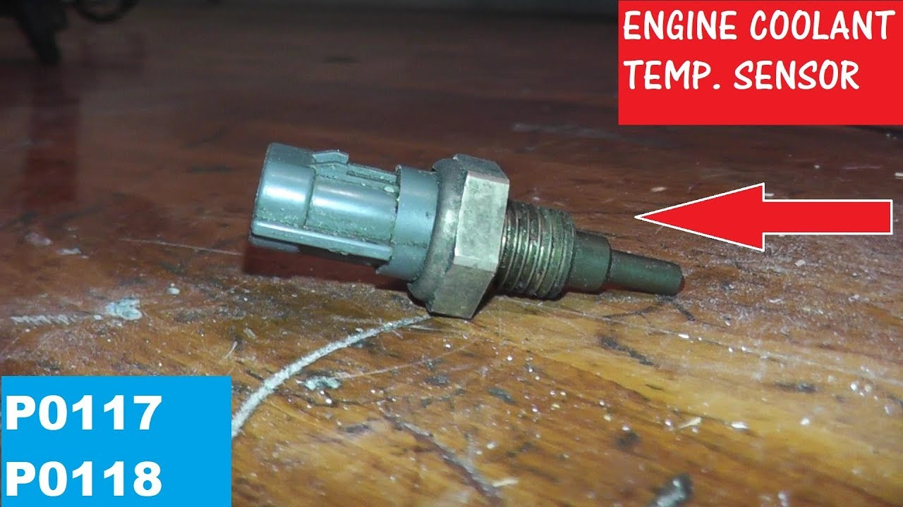 how to test and replace an engine coolant temperature sensor p0117 p0118 [ 1280 x 720 Pixel ]