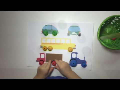 Смотреть 5 идей для малышей 2-3 лет. Деревянные игрушки.  vlog блог игры влог видео для детей детский канал