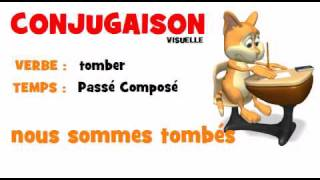 Conjugaison Tomber Passe Compose Youtube