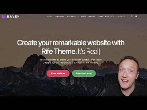 How to MAKE A WEBSITE 2018 with WordPress and Elementor