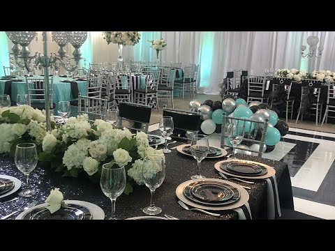 GLAM BIRTHDAY PARTY +BACKDROP | TIFFANY & CO. MEETS THE PIONEER WOMAN| EVENT PLANNING