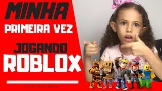 🔴 ROBLOX GAME VLOG - Jogando Roblox PELA PRIMEIRA VEZ | VIDEO ROBLOX GAMES #01[video]