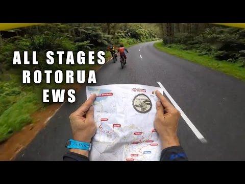 Practice DRIFTING at EWS CRANKWORX ROTORUA NZ 2017 - CG VLOG #102