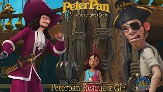 Peter Pan Rescate de una niña | los Mejores Videos de dibujos animados | de los Niños de dibujos animados