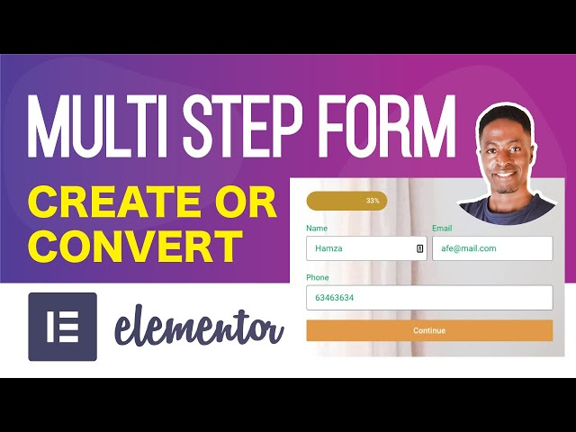 Elementor Multi-Step Forms | Create or Convert Existing Forms into Multi-Step forms with Elementor