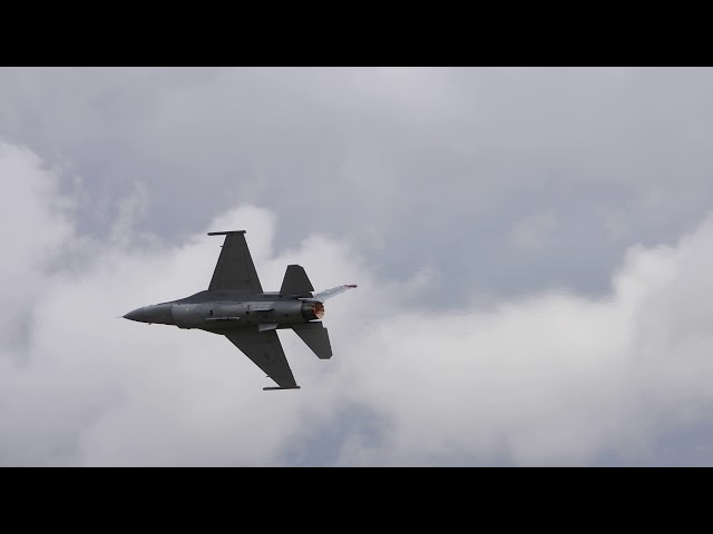 F16 Takeoff  RIAT 2019 21/07/19 – Omyplane