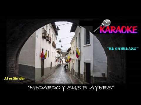 Karaoke - El Canelazo - Sanjuanito - Medardo y sus Players - Autor: Gerardo Arias y Arias.