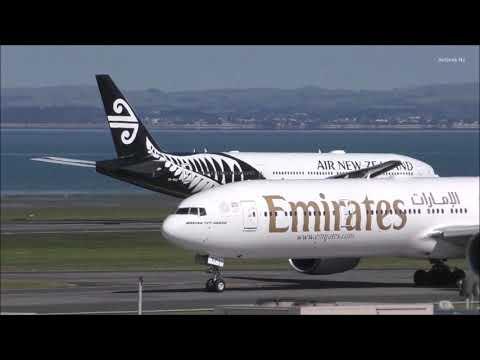 Auckland Airport Plane Spotting