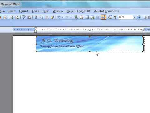 How to make a Form Letter in Microsoft Word - YouTube