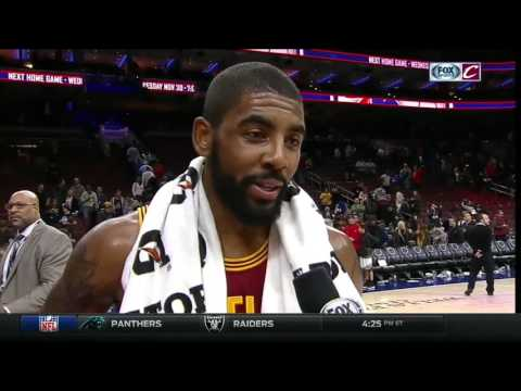 Cleveland Cavaliers' Kyrie Irving scores season-high in win over the Philadelphia 76ers