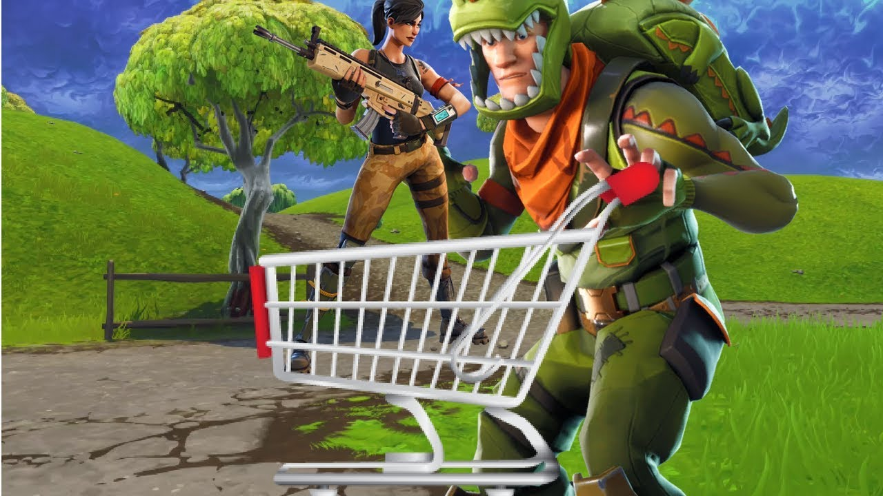New Shopping Cart Best Plays Fortnite Funny Fails And Wtf