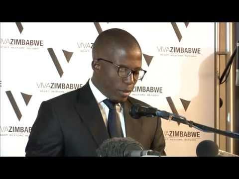 Acie Lumumba FULL VIVA ZIMBABWE Press Conference Statement and how it ended