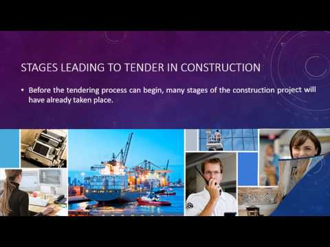 What Is Involved in the Construction Tendering Process?