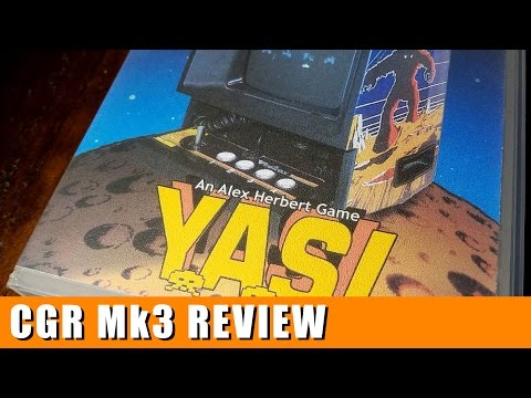 Classic Game Room - YASI review for Vectrex