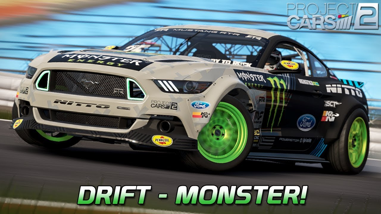 drift monster fun pack dlc project cars 2 german. Black Bedroom Furniture Sets. Home Design Ideas