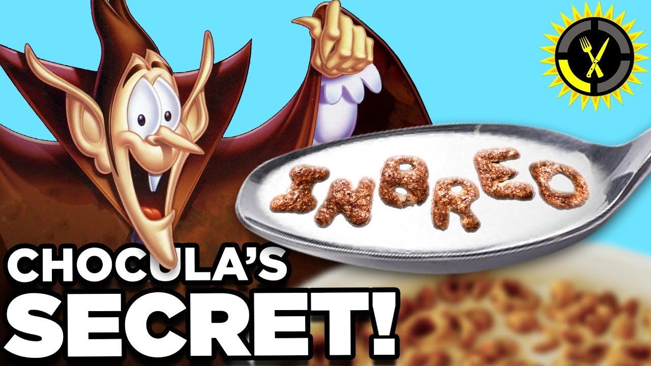 Food Theory: Count Chocula's Shameful Past! (Halloween Breakfast Cereal)