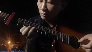 Guitar solo   BÈO DẠT MÂY TRÔI  Acoustic cover hợp âm cực chuẩn