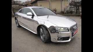 Audi S5 зеркальная хромированная пленка.(Audi S5 зеркальная хромированная пленка. продажа автомобилей,продать автомобиль,цена,купить автомобиль,авт..., 2013-09-11T07:10:18.000Z)