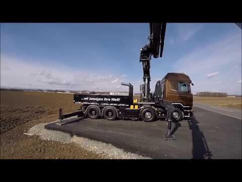 Кран манипулятор Scania V8 R520 ⁄ Palfinger PK 78002 16 тонн