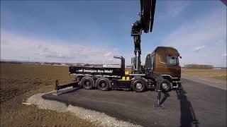 Кран манипулятор Scania V8 R520 ⁄ Palfinger PK 78002 16 тонн(Грузоподъёмность 4.2 м - 16 тон Манипулятор для монтажа конструкций и высотных работ на крышах в горизонтальн..., 2016-08-19T08:40:53.000Z)
