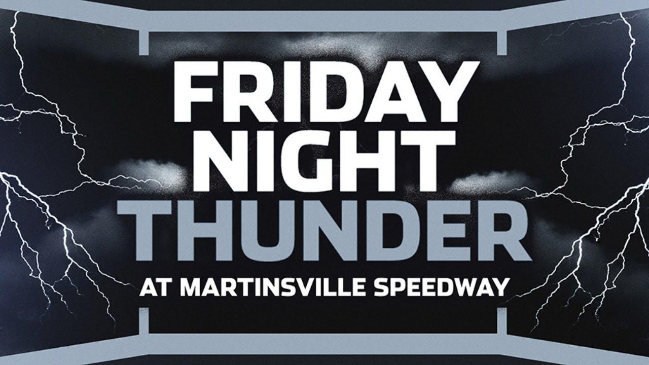 LIVE NASCAR | Friday Night Thunder: Martinsville Speedway
