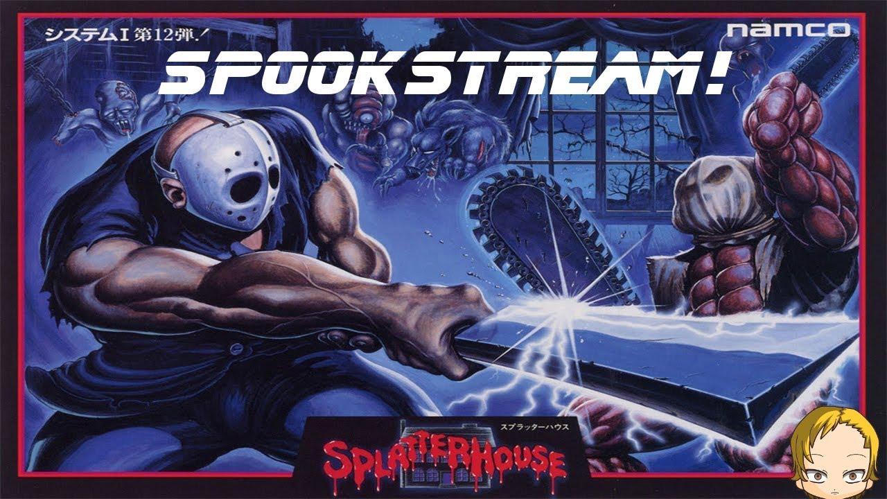 SPLATTERHOUSE Trilogy - Spookstream - FrozenGaming com
