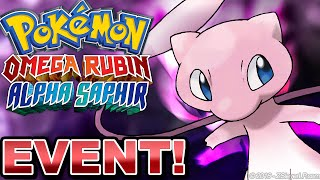 MEW EVENT VERTEILUNG! - Pokémon Omega Rubin, Alpha Saphir & X/Y Event