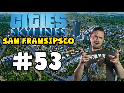 Sips Plays Cities Skylines (9/5/2018) #53 - flying pedestrians