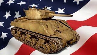 Обзор танка M4A3E2 Sherman Jumbo в war thunder