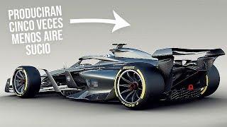 ¡¿COMO?! Los PROTOTIPOS de la F1 2021 PRODUCIRAN ¡5 VECES! menos de AIRE SUCIO
