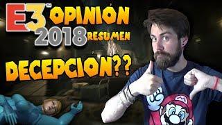 E3 2018 RESUMEN Y OPINIÓN   DECEPCIÓN O SORPRESON?   QUIÉN HA GANADO? NINTENDO NO!