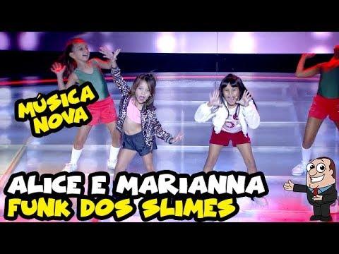"""ALICE MONTEIRO e MARIANNA SANTOS - """"Funk das Slimes"""" - NOVA MÚSICA  RAUL GIL"""