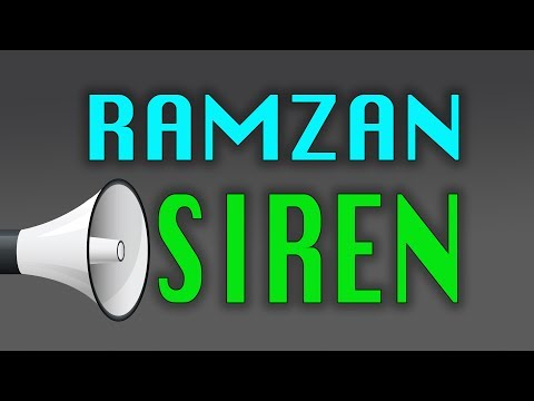 Ramadan Siren (Sound) in mosques   Ramadan Sound   Ramadan Ringtone 2016