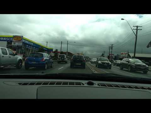 Sydney City driving Tempe, Arncliffe & Wolli Creek 4/3/17 IKEA