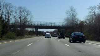 Interstate 195 - Massachusetts (Exits 8 to 13) eastbound