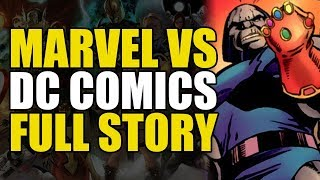 Marvel vs DC Full Story: Marvel vs DC to Avengers vs Justice League | Comics Explained