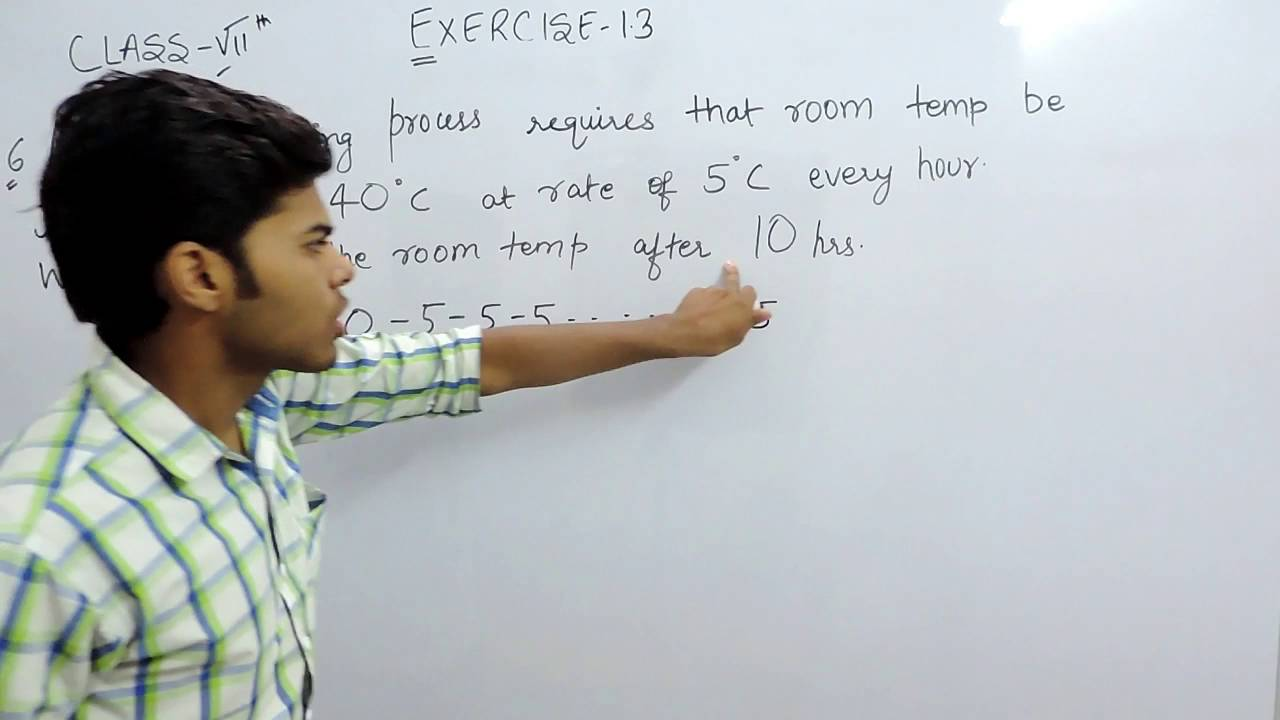 Exercise 1.3 Questions 6 - NCERT/CBSE Solutions for Class 7th Maths ...