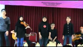 Musikalisasi puisi (Allisa Anastasya-biola)