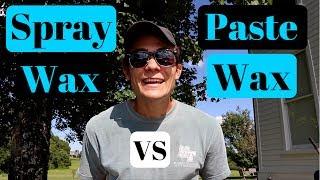Meguiar's Spray Wax VS Meguiar's Paste Wax: X-Wax and Ultimate Paste Wax!