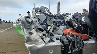 CRAZY BOAT CRASH! MUST SEE