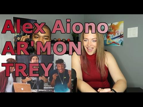 I Spy, T Shirt, Isn't She Lovely, & Swang MASHUPAlex Aiono Cover FT AR'MON AND TREY (Reaction 🔥)