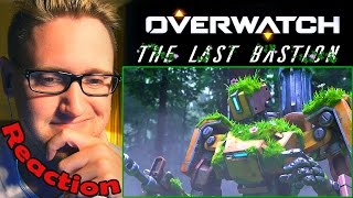 "Overwatch Animated Short | ""The Last Bastion"" REACTION! 