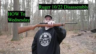 Ruger 1022 Disassembly , How To Wednesday