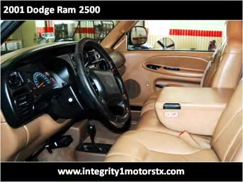 2001 dodge ram 2500 used cars amarillo tx youtube for Integrity motors amarillo tx
