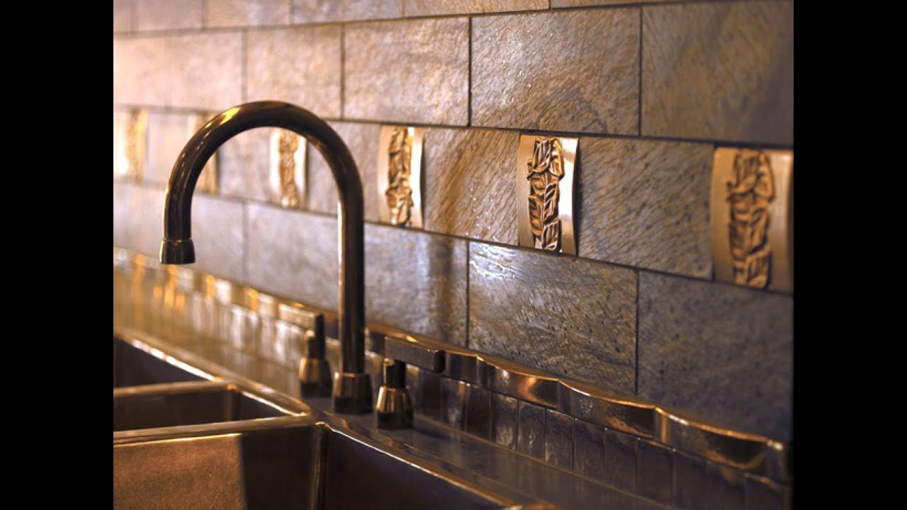 Tiles Ideas For Kitchens Part - 50: 15 Modern Kitchen Tile Backsplash Ideas And Designs - YouTube