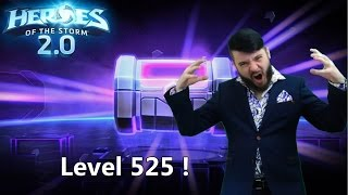 heroes of the storm 2 0 otevran 62 beden level 525